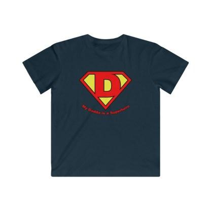 airplaneTees My Dadda is a Superhero Tee - Kids Fine Jersey 5