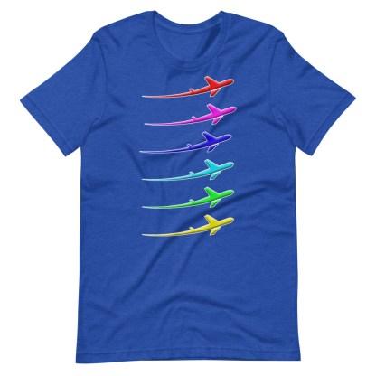 airplaneTees Pride Streak Tee - Short-Sleeve Unisex 14