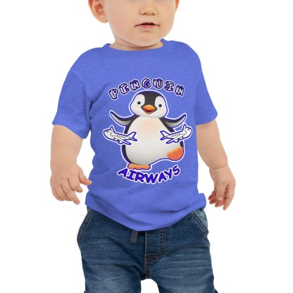 airplaneTees Penguin Airways Baby Tee... Baby Jersey Short Sleeve 2