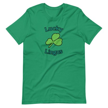 airplaneTees Lucky Lingus Tee Short-Sleeve Unisex 1