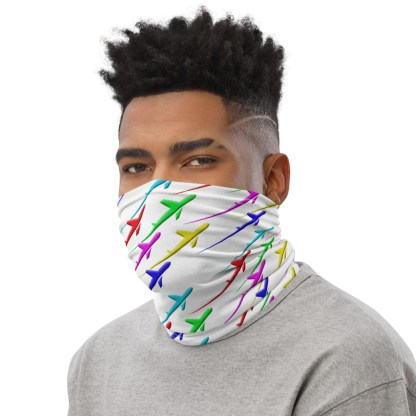 airplaneTees Pride Streak Face Mask/Face Covering/Neck Gaiter 3