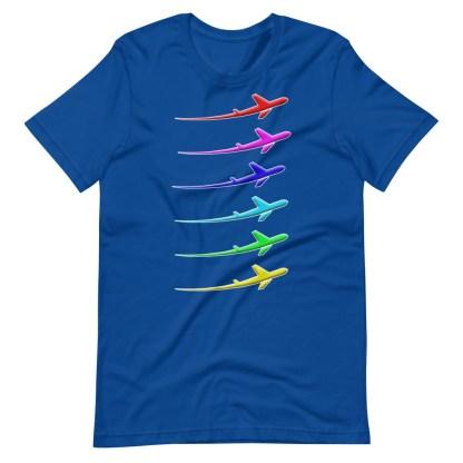 airplaneTees Pride Streak Tee - Short-Sleeve Unisex 9