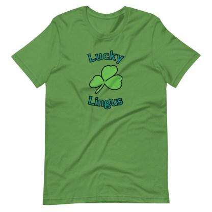 airplaneTees Lucky Lingus Tee Short-Sleeve Unisex 9