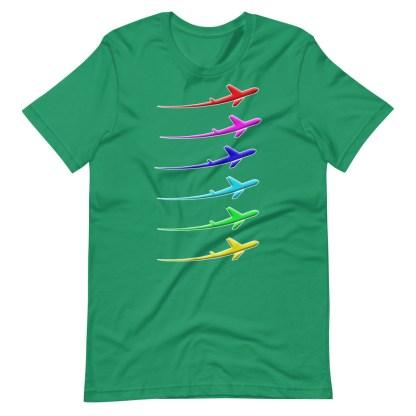 airplaneTees Pride Streak Tee - Short-Sleeve Unisex 8