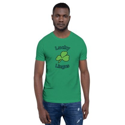 airplaneTees Lucky Lingus Tee Short-Sleeve Unisex 2