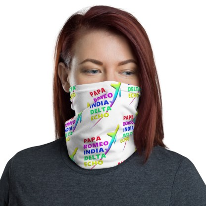 airplaneTees PRIDE Face Mask/Face Covering/Neck Gaiter 2