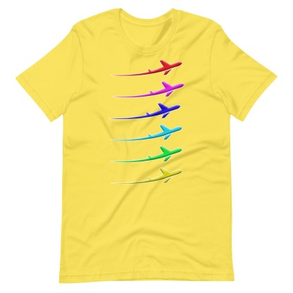 airplaneTees Pride Streak Tee - Short-Sleeve Unisex 13