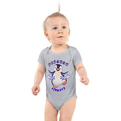 airplaneTees Penguin Airways Onesie... Infant Bodysuit 2