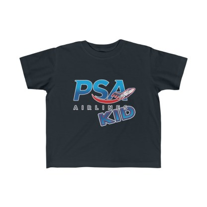 airplaneTees PSA Airlines Kid CRJ Tee... Toddler Kid's Fine Jersey 3