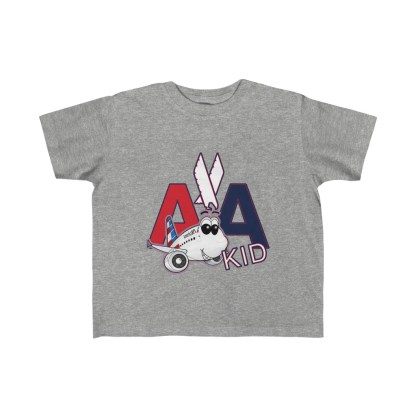 airplaneTees AA Kid Toddler Tee Airbus... Kid's Fine Jersey 1