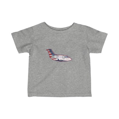 airplaneTees MESA CRJ Infant Tee - Fine Jersey 3