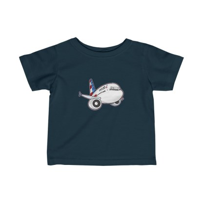 airplaneTees American Airbus Infant Tee... Fine Jersey 5