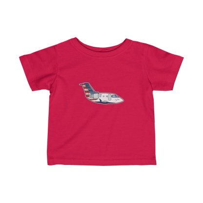 airplaneTees PSA CRJ Infant Tee - Fine Jersey 6