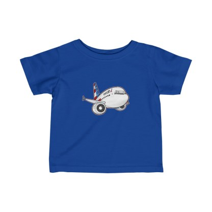 airplaneTees American Airbus Infant Tee... Fine Jersey 1