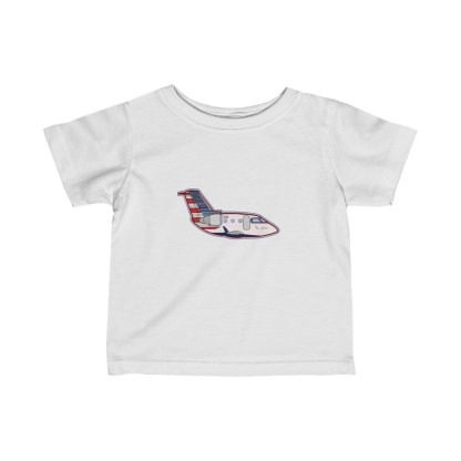 airplaneTees MESA CRJ Infant Tee - Fine Jersey 2