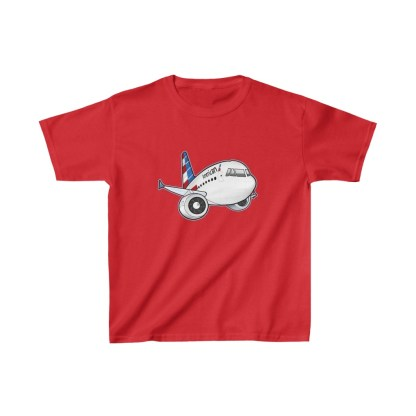airplaneTees American Airbus Youth Tee... Kids Heavy Cotton™ 11