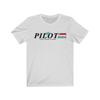 airplaneTees GI Pilot Tee - Unisex Jersey Short Sleeve 3