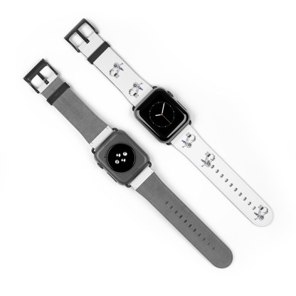 airplaneTees American Airlines Airbus Smiley Apple Watch Band 7