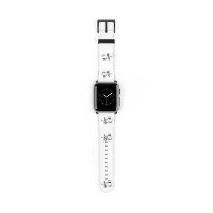 airplaneTees American Airlines Airbus Smiley Apple Watch Band 5