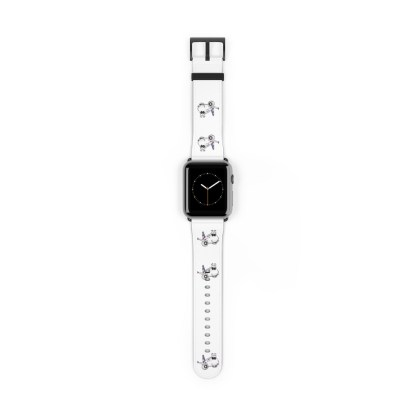airplaneTees American Airlines Airbus Smiley Apple Watch Band 2