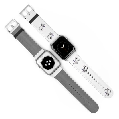 airplaneTees American Airlines Airbus Smiley Apple Watch Band 23
