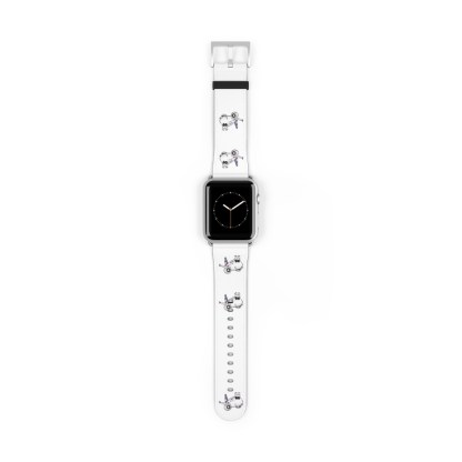 airplaneTees American Airlines Airbus Smiley Apple Watch Band 21