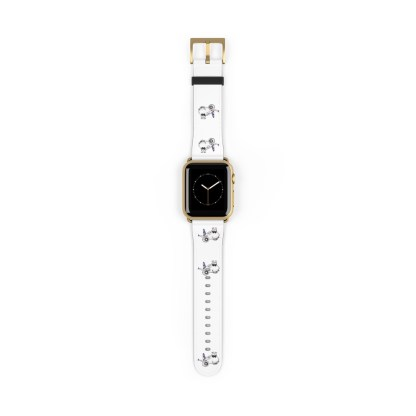 airplaneTees American Airlines Airbus Smiley Apple Watch Band 13