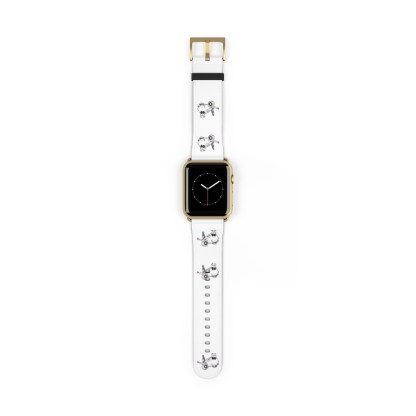 airplaneTees American Airlines Airbus Smiley Apple Watch Band 25