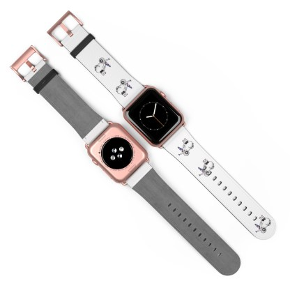 airplaneTees American Airlines Airbus Smiley Apple Watch Band 31