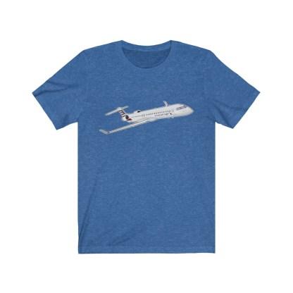 airplaneTees AA CRJ Tee / PSA CRJ Tee... Unisex Jersey Short Sleeve 1