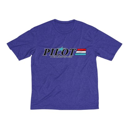 airplaneTees GI Pilot Tee... Men's Heather Dri-Fit 9
