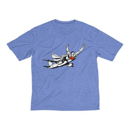 airplaneTees SuperPlane Tee... Men's Heather Dri-Fit 1