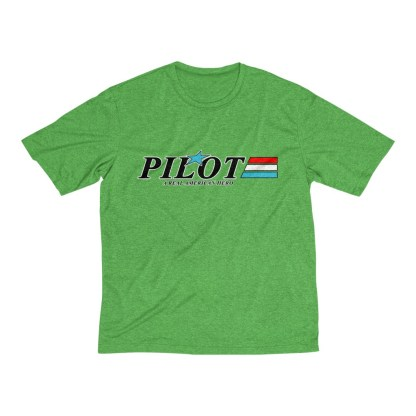 airplaneTees GI Pilot Tee... Men's Heather Dri-Fit 5