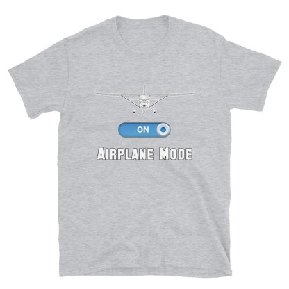airplaneTees GA Airplane Mode Tee... Short-Sleeve Unisex T-Shirt 8