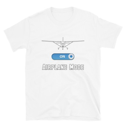 airplaneTees GA Airplane Mode Tee... Short-Sleeve Unisex T-Shirt 5