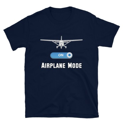 airplaneTees GA Airplane Mode Tee... Short-Sleeve Unisex T-Shirt 6
