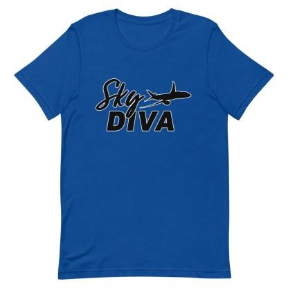 airplaneTees Sky Diva Tee... Short-Sleeve Unisex Black 11