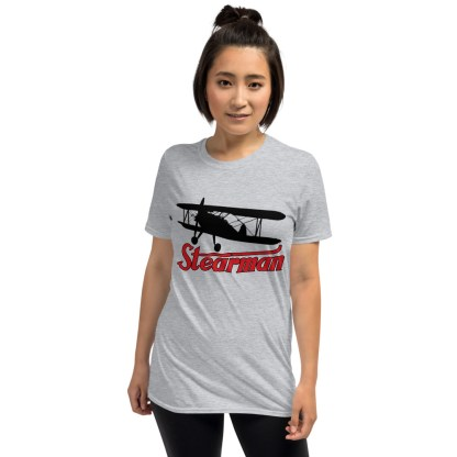airplaneTees Stearman Tee... Short-Sleeve Unisex 5