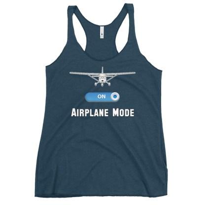 airplaneTees GA Airplane Mode tank top... Women's Racerback 6