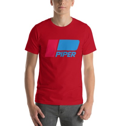 airplaneTees Piper logo tee... Short-Sleeve Unisex 14