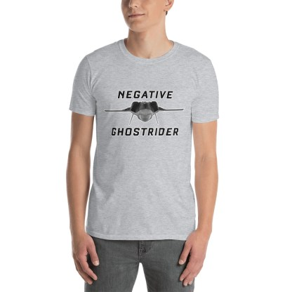 airplaneTees Negative Ghostrider Tee... Short-Sleeve Unisex 2