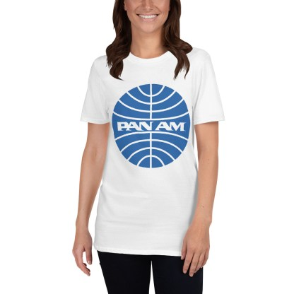 airplaneTees Pan Am Logo Tee... Short-Sleeve Unisex 4