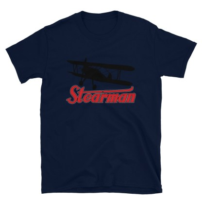 airplaneTees Stearman Tee... Short-Sleeve Unisex 7
