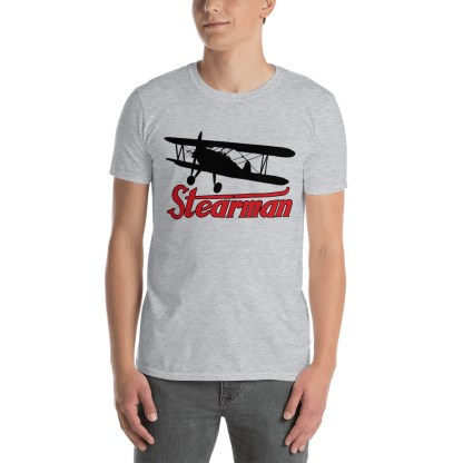 airplaneTees Stearman Tee... Short-Sleeve Unisex 2