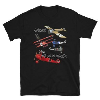 airplaneTees Meet the Fokkers Tee... Short-Sleeve Unisex 6