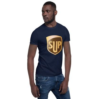 airplaneTees SUP Tee... Short-Sleeve Unisex... UPS Parody Tee 12