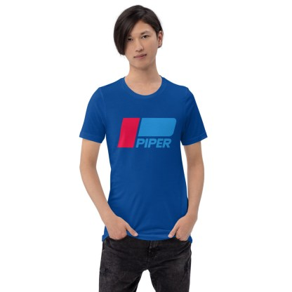 airplaneTees Piper logo tee... Short-Sleeve Unisex 2