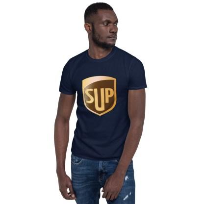 airplaneTees SUP Tee... Short-Sleeve Unisex... UPS Parody Tee 11