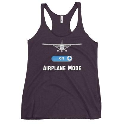airplaneTees GA Airplane Mode tank top... Women's Racerback 11