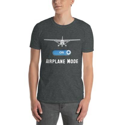 airplaneTees GA Airplane Mode Tee... Short-Sleeve Unisex T-Shirt 2